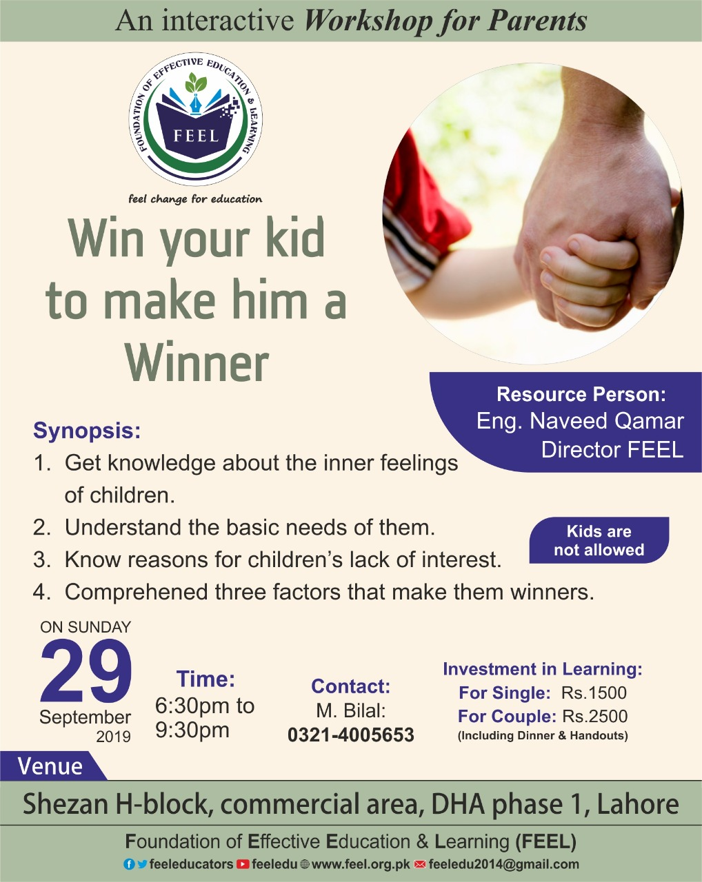 Win Your Child to Make Him a Winner